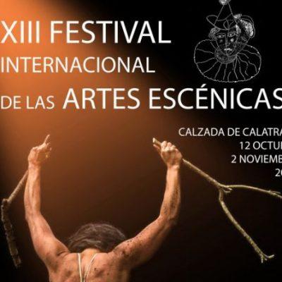 El XIII Festival Internacional de las Artes Escénicas de Calzada se celebrará del 12 de octubre al 2 de noviembre